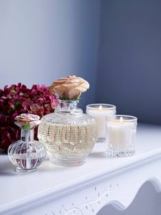 Create a calm ambience with a beautiful scented candle. From fresh lemongrass and ginger, to elderflower, you'll find plenty of delicious scents to choose from. Elderflower, House Of Fraser, Lemon Grass, Punch Bowls, Berries, Candles, Fresh, Create, Beautiful