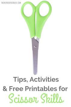 Cutting Activities, Fine Motor Activities For Kids, Mazes For Kids, Preschool Learning Activities, Interactive Activities, Teaching Kids, Dementia Activities, Physical Activities, Cutting Practice