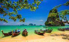 10 praias sexy pelo mundo: Railay Beach – Tailândia