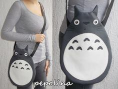Sac d'épaule de mon voisin Totoro par ivanapepolina sur Etsy