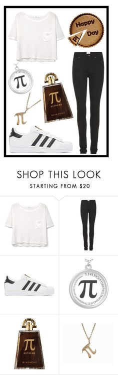 """""""#363 happy pi day"""" by xjet1998x ❤ liked on Polyvore featuring MANGO, Acne Studios, adidas Originals and Givenchy"""