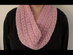 VERY EASY chunky crochet star stitch cowl. scarf. snood. infinity scarf tutorial, My Crafts and DIY