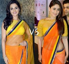 Kareena Kapoor or Monika Bedi who wore it better?  Rakhi & Tarak