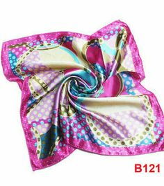 Spring Easter Ascot Silk Scarf