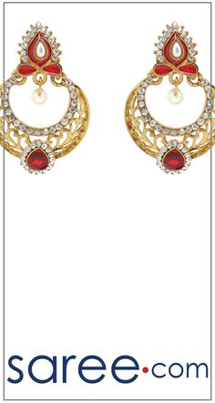 GOLDEN AND MAROON DESIGNER EARRING  #Jewelry #accessories #Earrings #Earringsoftheday #necklace #necklaceoftheday #necklaceset #jewelleryset #jewellerydesign #jewelleryonline #buyonline #jewellery