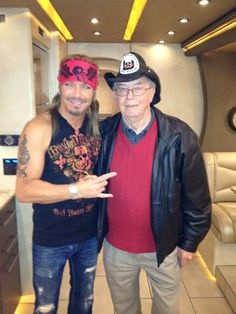 Bret & his father