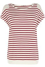 Banded Hem Stripe Top £22