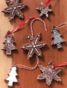 How To Make Cinnamon Dough Ornaments — Cooking Lessons from The Kitchn Cinnamon Ornaments, Easy Ornaments, Dough Ornaments, Ornament Crafts, Handmade Ornaments, Felt Christmas Decorations, Christmas Crafts, Christmas Ornaments, Christmas Ideas