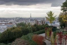 Paris - 20ème arrondissement Le bélvédère du parc de Belleville
