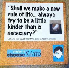 #ChooseKind #TheWonderOfWonder