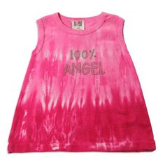 BNu by Purple Orchid  Baby Girls Sleeveless Tie Dye Top Fuchsia 2315124Months >>> You can find out more details at the link of the image.