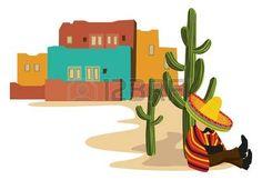 paisajes mexicanos: Mexicano siestas