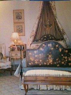 Charles Faudree French Country bedroom