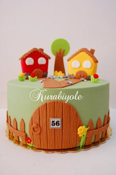 Many individuals don't think about going into company when they begin cake decorating. Many folks begin a house cake decorating com Cake Decorating Supplies, Cake Decorating Techniques, Cookie Decorating, Cupcakes, Cupcake Cakes, Welcome Home Cakes, Housewarming Cake, Farm Cake, House Cake