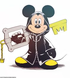 Kingdom Hearts Worlds, Kingdom Hearts Tattoo, Kingdom Hearts Games, Kingdom Hearts Fanart, Disney Kingdom Hearts, Mickey Mouse Art, Mickey Mouse And Friends, Mickey Hands, Diamond Picture
