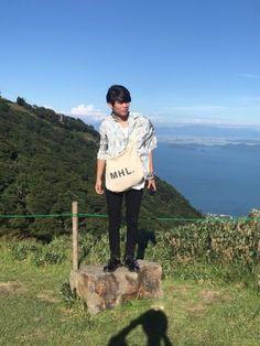 琵琶湖バレイに行ってきました♡ 最高の景色でした‼︎ LIDnMの黒スキニー履き心地良すぎて、2本目