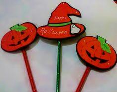 Halloween lápices fomi