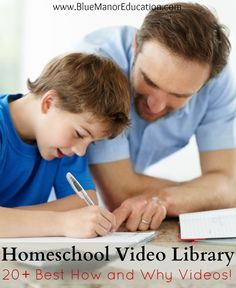 Homeschooling Video Library, 20 must see videos for homeschoolers and their friends.