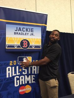 2016 All-Star game: Think Jackie Bradley Jr. wants to keep his sign.