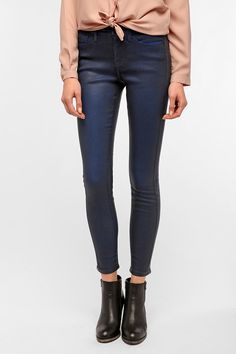 BDG Coated Twig Mid-Rise Jean