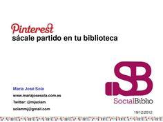Pinterest: sácale partido en tu biblioteca. Socialbiblio.com