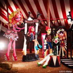 All about Monster High: Freak Du Chic guys