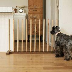 elegant solution for a terrier barrier