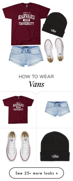 """Meh style"" by samkimlee on Polyvore featuring 3x1, Converse and Vans"