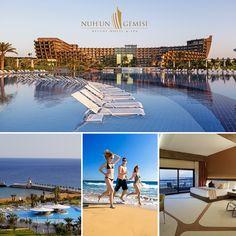 Nuh'un Gemisi Deluxe Hotel, 1300 metrelik kumsalı ve dünya standartlarındaki servis kalitesi ile Kıbrıs tatilinizi unutulmaz hale getiriyor.