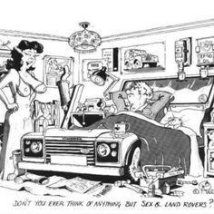 Some Landy humour ha ha! Defender Td5, Defender Camper, Land Rover Defender 110, Range Rover Off Road, Land Rover Models, Land Rover Series 3, Car Jokes, Off Road Adventure, Man Cave Bar