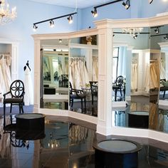 The Gown Boutique of Charleston provides brides with an excellent selection of bridal gowns, wedding dresses, and bridesmaid dresses. Bridal Boutique Interior, Boutique Decor, Royal Ballet, Dark Fantasy Art, Brides Room, Wedding Dress Boutiques, Retail Store Design, Store Interiors, Bridal Stores