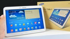 Samsung Galaxy Tab 3 10.1 The Samsung Galaxy Tab 3 10.1 is the largest tablet in Samsung's third generation line of mainstream Android tablets. It's the perhaps too gradual evolution of the Galaxy Tab line rather than a leap forward that would place