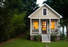 I would love a small house like this.