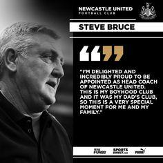 Newcastle United Football, Steve Bruce, Yes Man, I Am Ready, Focus On Me, Bettering Myself, Sunderland, Losing Me, My Dad