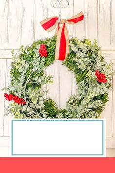 These 5 easy DIY Christmas wreath ideas will have you pumped to decorate simply and inexpensively for the holidays! Easy Christmas Crafts, Homemade Christmas, Simple Christmas, Christmas Holidays, Christmas Decorations, Wreath Crafts, Diy Wreath, Wreath Ideas, Diy Crafts