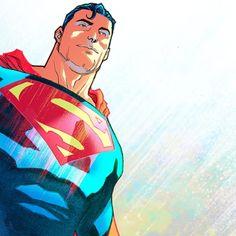 Colors. #superman #trinity- Francis Manapul