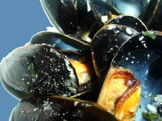 Oven Roasted Mussels with Garlic, Butter and Fresh Herbs...this is my favorite way to prepare mussels!  This recipe is very quick and easy to prepare, and tastes so good!  Don't forget the french bread to sop up the juices!