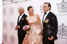Members of the Swedish Royal Family attended the Polar Music Prize 2014 at Concert Hall in Stockholm