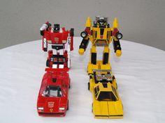 Transformers G1 Sideswipe and Sunstreaker