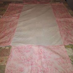 Carousel Designs Baby Crib Bedding Skirt Pink Central Park Toile 100% Cotton #CarouselDesign Girl Cribs, Carousel Designs, Baby Crib Bedding, Central Park, Baby Design, Two Piece Skirt Set, Pink, Cotton, Toile