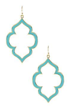 GlitterRINGS | Enamel Spade Earrings | Nordstrom Rack