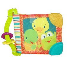 Bright Starts Teether Books are designed to spark an early appetite for reading