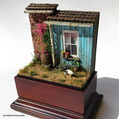 """""""Springtime cottage (1/35 scale)"""""""
