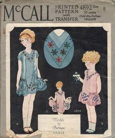 1920s children's pattern