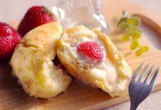 八天堂×TGC、苺1個が入った「くりーむパン」とあまおうジャムのマフィン期間限定発売 | ファッションプレス