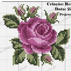 1 million+ Stunning Free Images to Use Anywhere Cross Stitch Rose, Beaded Cross Stitch, Cross Stitch Borders, Cross Stitch Flowers, Cross Stitching, Cross Stitch Embroidery, Cross Stitch Patterns, Quilt Patterns, Needle Tatting Tutorial