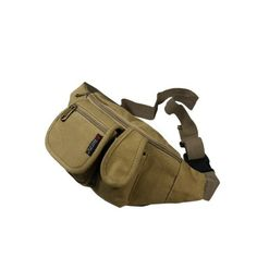 Pin it! :)  Follow us :))  zCamping.com is your Camping Product Gallery ;) CLICK IMAGE TWICE for Pricing and Info :) SEE A LARGER SELECTION of fanny packs and waistpacks at http://zcamping.com/category/camping-categories/camping-backpacks/fanny-packs-and-waistpacks/ - fanny pack, waist pack,  camping, backpacks, camping gear, camp supplies -[Portable Canvas] Casual Multi-Purposes Fanny Pack / Back Pack / Travel Lumbar Pack [Portable Canva « zCamping.com