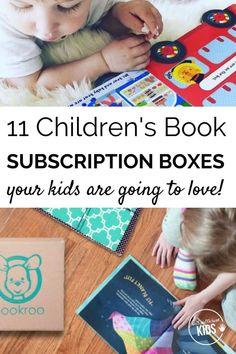 Childrens book subscription box