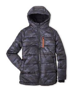 Michael Kors (Boys 8-20) Camo Puffer Jacket