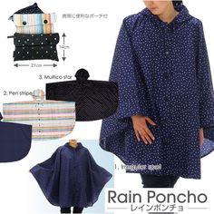 Rakuten: totes Rain Poncho (lane poncho) raincoat- Shopping Japanese products from Japan
